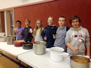 Altar server soup night