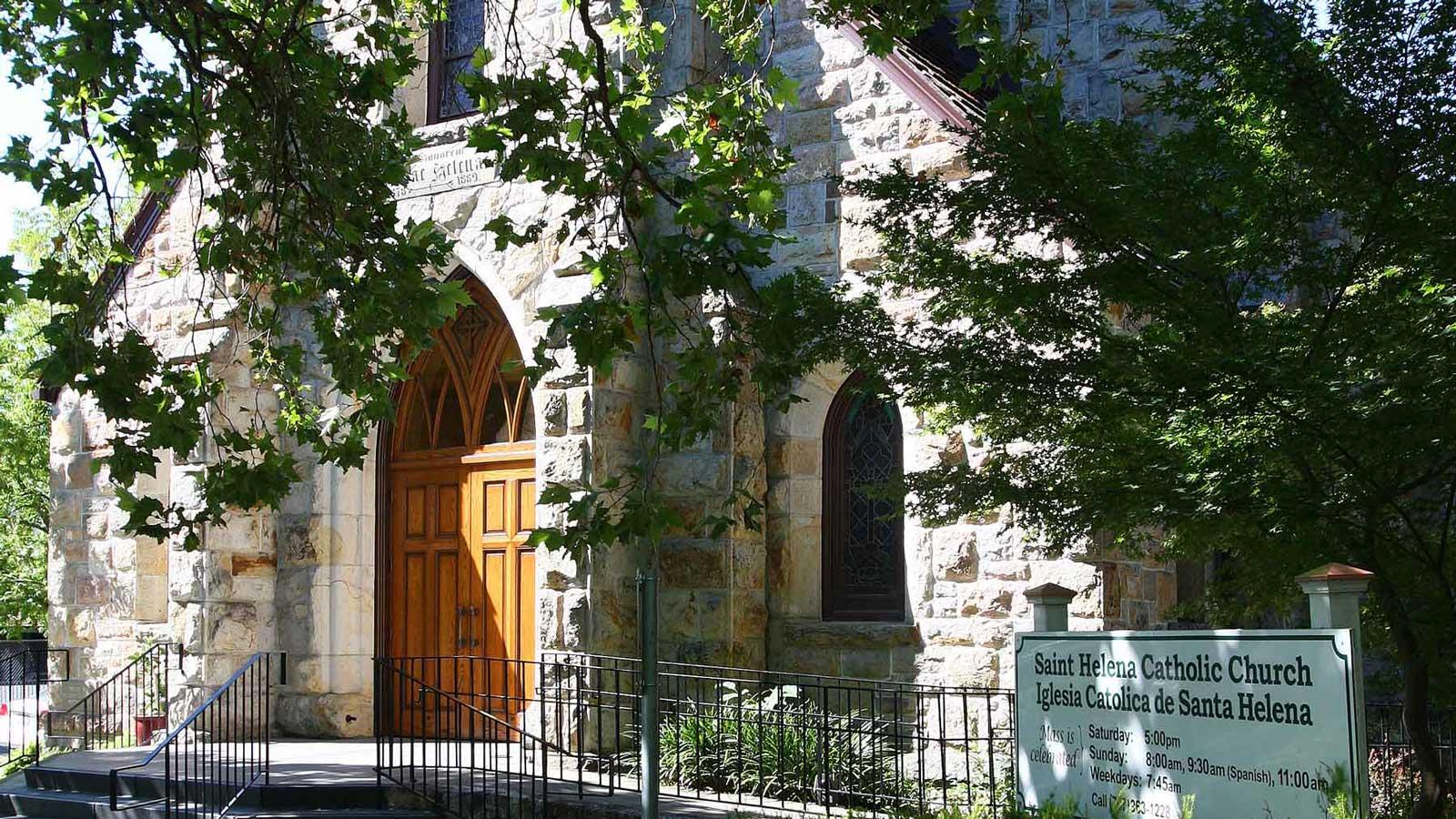 St. Helena Catholic Church - welcome
